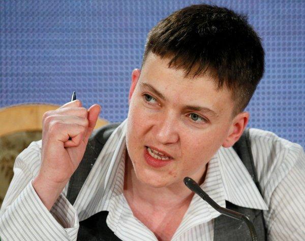 Савченко предупредила украинских властей об «ударе по зубам» за войну в Донбассе