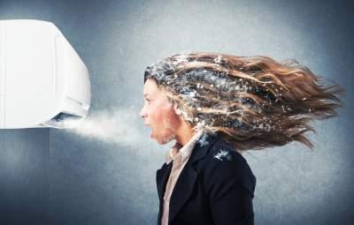 Медики рассказали, как не простудиться из-за кондиционера