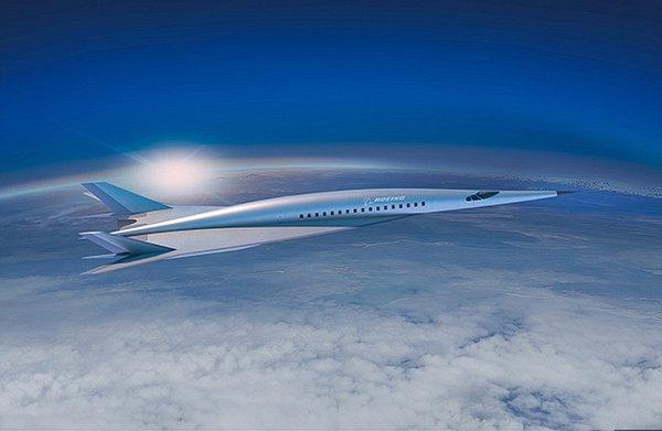 Boeing создала концепт гиперзвукового пассажирского самолёта