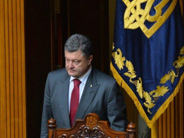 Депутат рассказал, что Порошенко может в скором времени распустить Раду