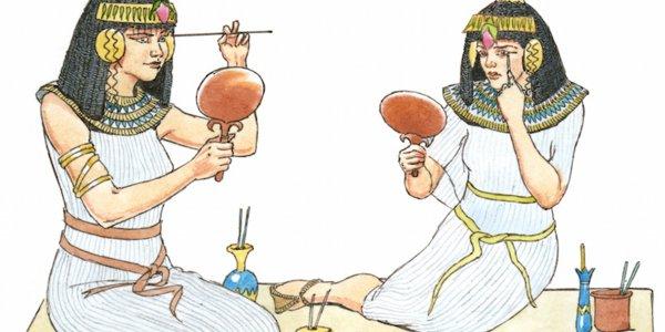 Ученые из Франции смогли измерить возраст косметики Древнего Египта и Греции