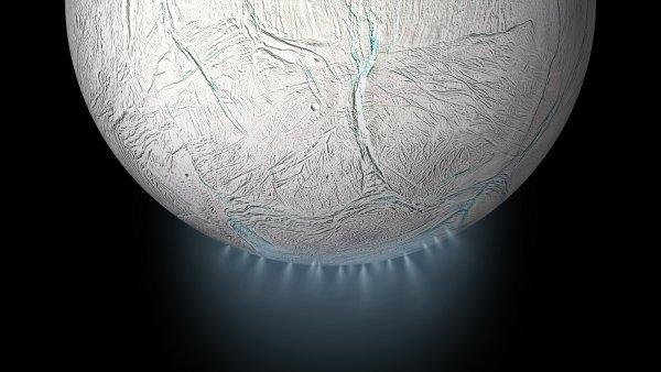 Луна Сатурна  Энцелад пригодна для жизни - ESA