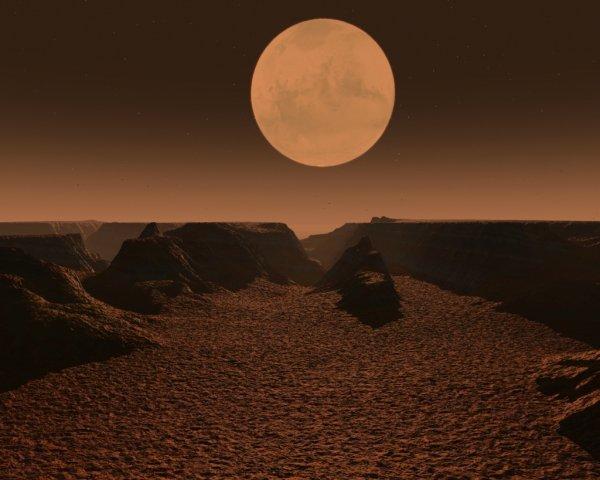 Ученые определили как появились долины на Марсе