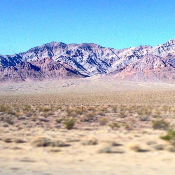 В пустыне Невада между Лас-Вегасом и «Зоной 51» ученые заметили искажение времени