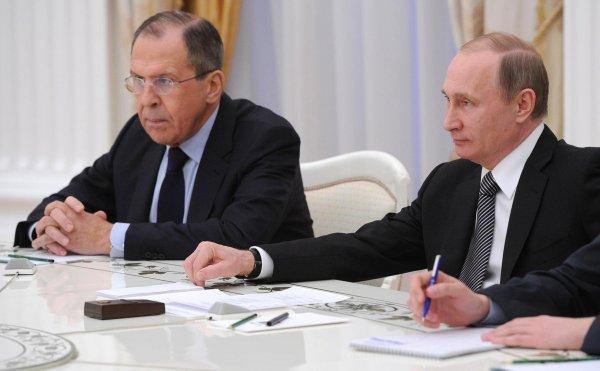 Путин через Лаврова получил устное послание короля Иордании
