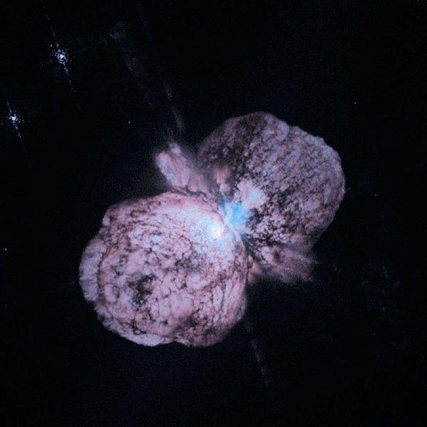 Специалисты NASA: Самая большая звезда в Галактике – космический лучемет