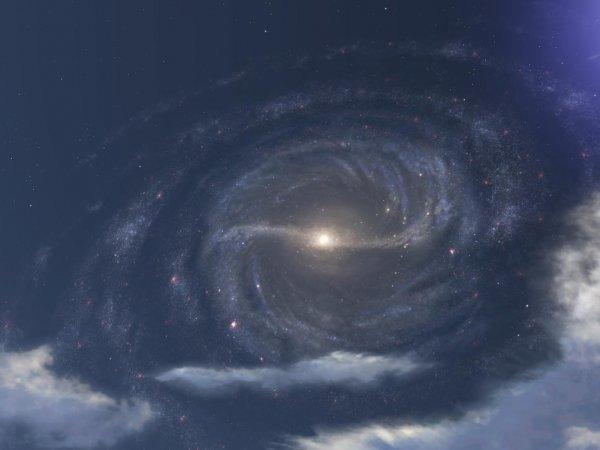 Судьбу Млечного пути определило древнее столкновение с «сосиской»