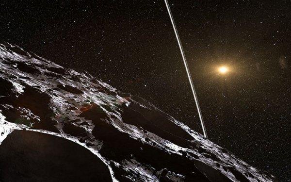 Ученые: В Индии упали два космических объекта