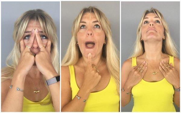 Меган Маркл рассказала о любимых упражнениях от морщин на лице