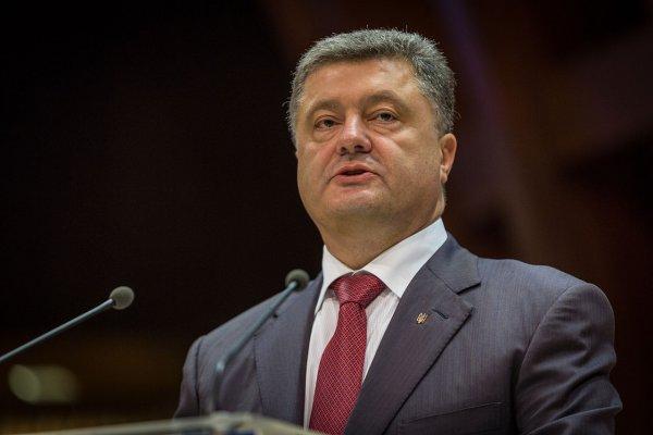 Порошенко заявил, что князь Владимир крестил Украину, а не Русь