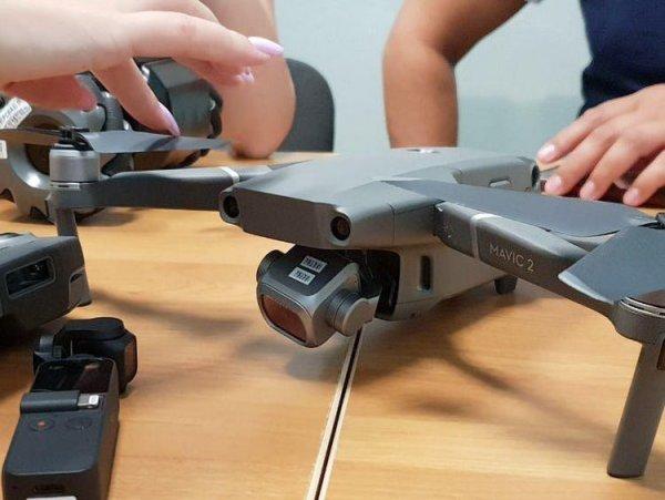 В Интернете появились фото дрона MJI Macic 2