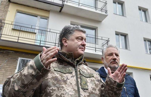 Порошенко намерен «опечатать» часть границы с Россией