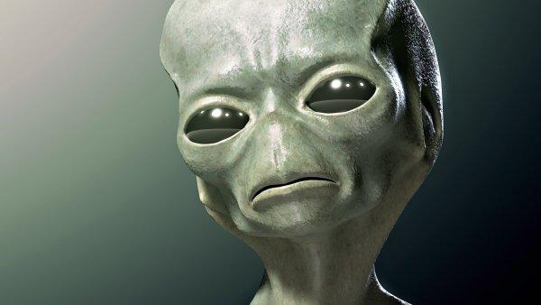 В пещере Колумбии увидели злобного инопланетянина