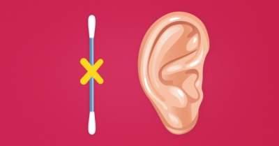 Врачи объяснили, почему нельзя чистить уши ватным палочками