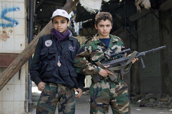 Дети Сирии могут бесплатно обучатся в военных училищах РФ