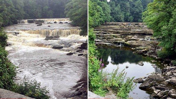 Водопаду, показанному в картине «Робин Гуд», грозит полное высыхание