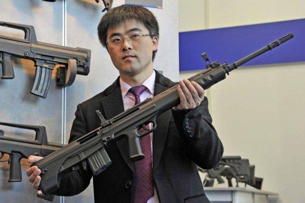 Эксперты: Лазерная китайская супервинтовка является фейком