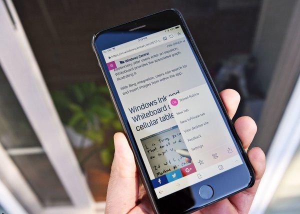 Microsoft Edge для Android обзавелся встроенным переводчиком