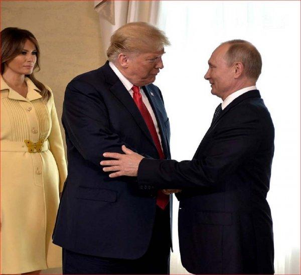Путин и Трамп в Хельсинки обсудили «вмешательство» России в выборы главы США