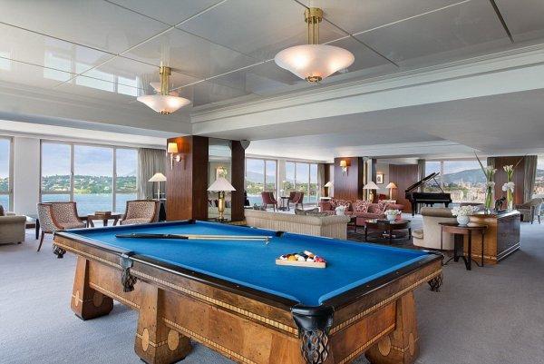Пуленепробиваемые окна и пианино: Названы самые дорогие номера в отелях мира