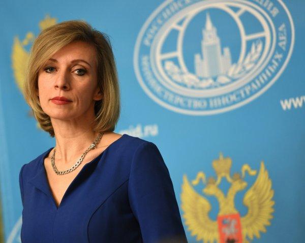 Мария Захарова рассказала о референдуме на Донбассе