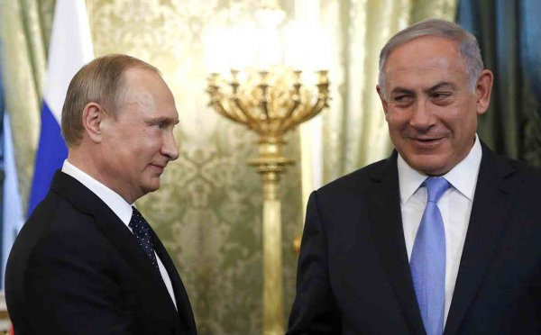Путин и Нетаньяху обговорили ситуацию на Ближнем Востоке