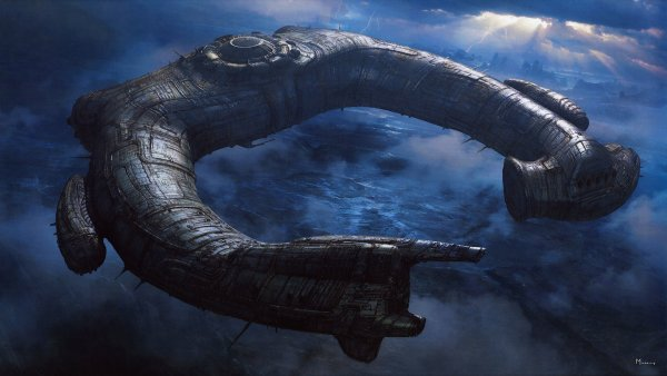 Уфологи: В солнечной системе обнаружен боевой инопланетный корабль