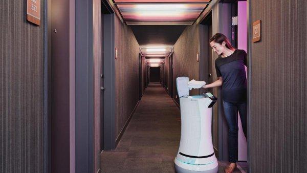В китайских отелях появился робот-консьерж