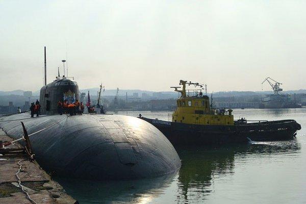 В России прошли испытания атомной подлодки Томск