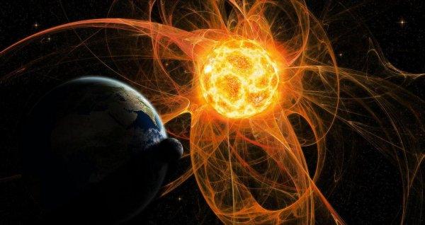 На Землю обрушился космический шторм из-за крупной магнитной бури