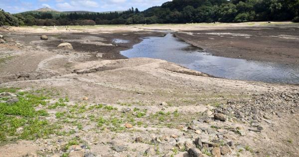 Затопленная в прошлом веке английская деревня впервые «вышла» на поверхность