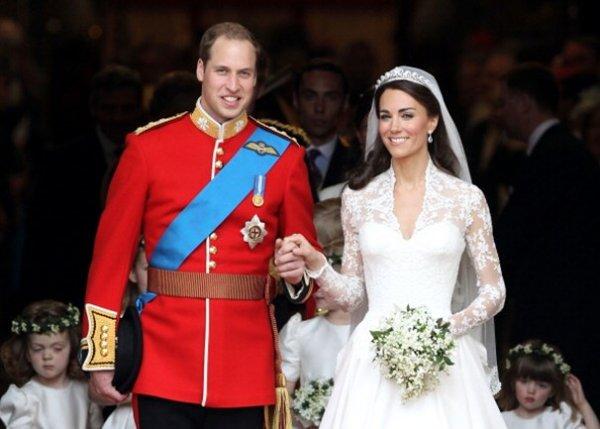 Принц Уильям и Кейт Миддлтон нарушили королевскую традицию в брачную ночь