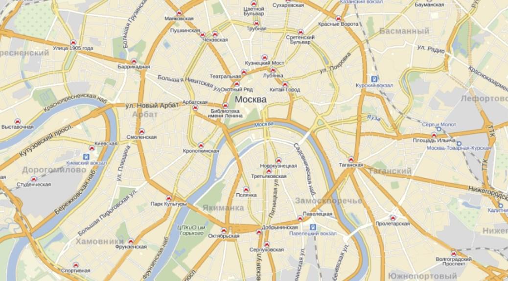 Карта на смартфоне – большое удобство
