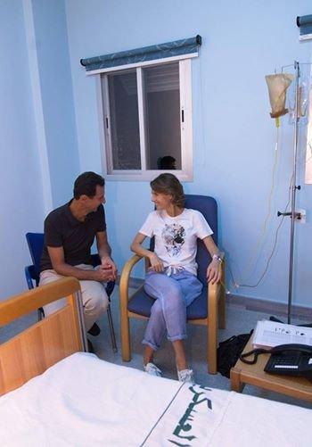 У супруги Башара Асада диагностировали рак груди