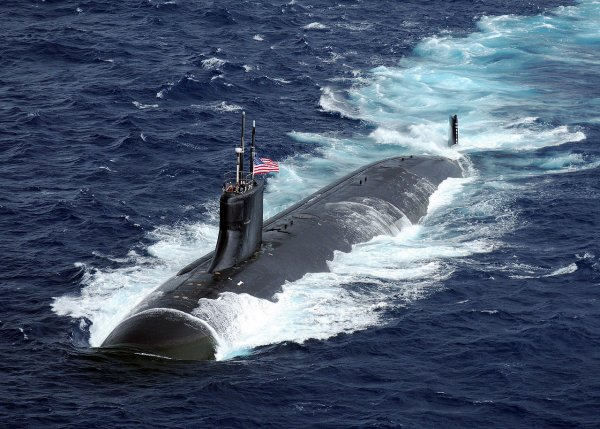 Российский фрегат выследил подлодку США в Средиземном море