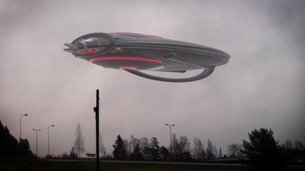 НЛО пролетело над Северной Каролиной