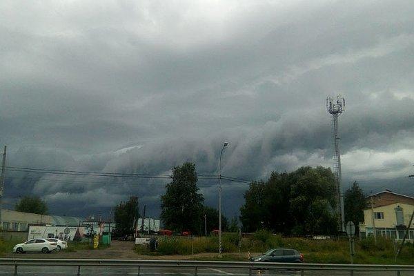 Страшный Апокалипсис: Облака-цунами ужаснули жителей Иллинойса