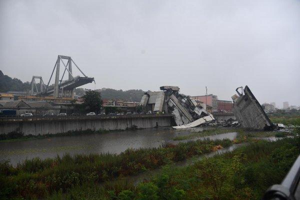 У обрушившегося моста в Италии есть «братья-близнецы» в Венесуэле и Ливии
