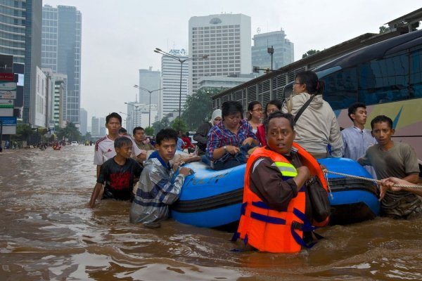 Эксперты выяснили, что Джакарта исчезнет с лица Земли