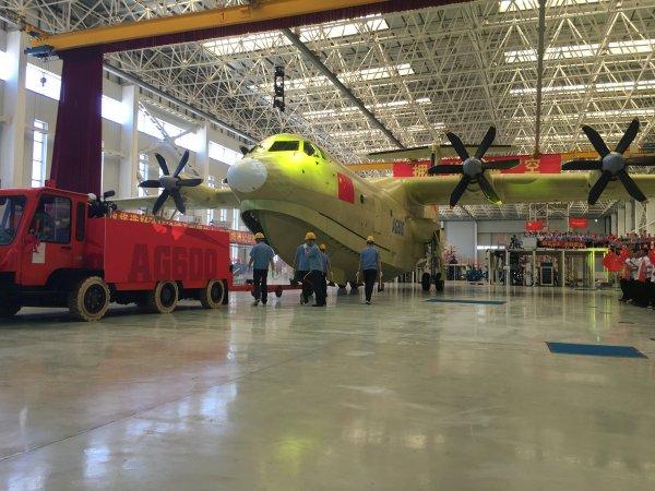 Крупнейший на планете китайский самолет-амфибия прошел летные испытания