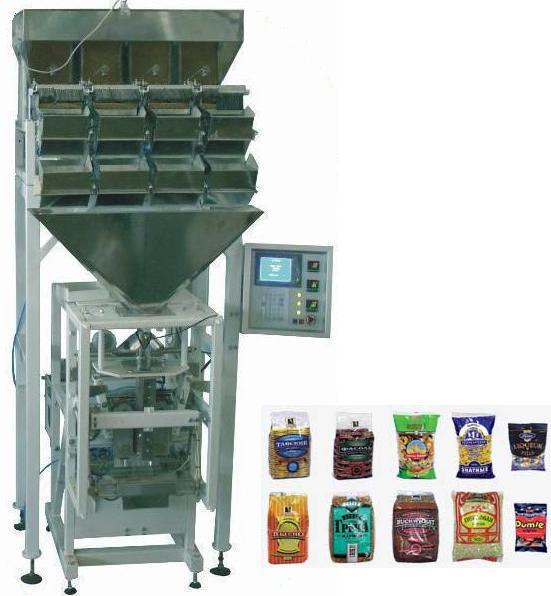 Оборудование для фасовки сыпучей продукции