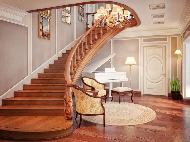 Индивидуальный заказ на изготовление лестниц