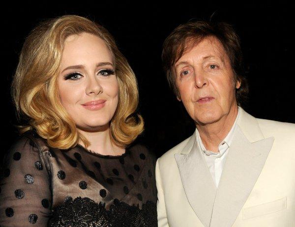 Певица Адель и Пол Маккартни возглавили списки самых богатых музыкантов
