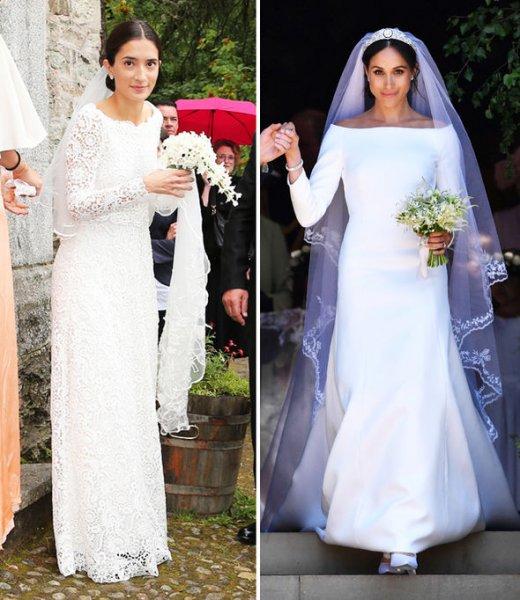 Принцесса Баварии на своей свадьбе в точности скопировала образ Меган Маркл