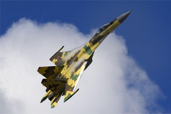 Российский СУ-35 окрестили «худшим кошмаром» ВВС США
