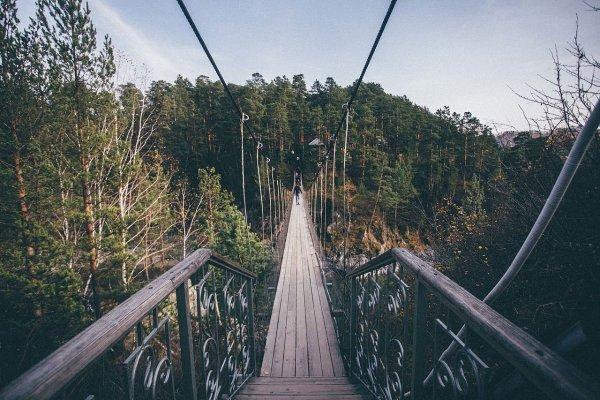 В Италии возвели самый высокий подвесной мост в Европе
