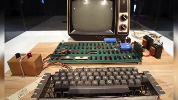 Первый компьютер Apple в истории продан за 375 000$