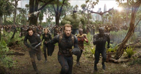 «Мстители: Война бесконечности» собрали 1,16 млрд рублей в РФ и СНГ