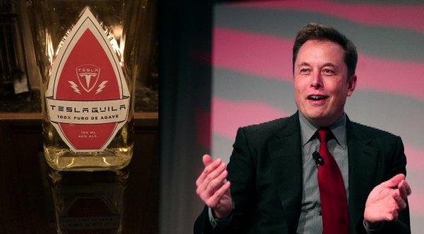 Илон Маск планирует выпустить текилу под маркой Tesla