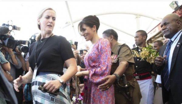 Телохранитель Меган Маркл подверглась сексистской «проверке» в СМИ
